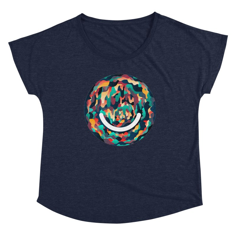Color Cave - Chuck Anderson Women's Dolman Scoop Neck by Ello x Threadless