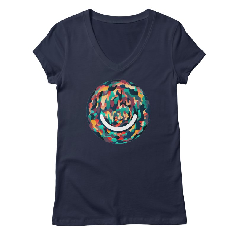 Color Cave - Chuck Anderson Women's V-Neck by Ello x Threadless