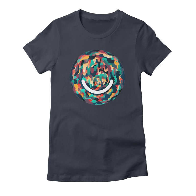 Color Cave - Chuck Anderson Women's Fitted T-Shirt by Ello x Threadless