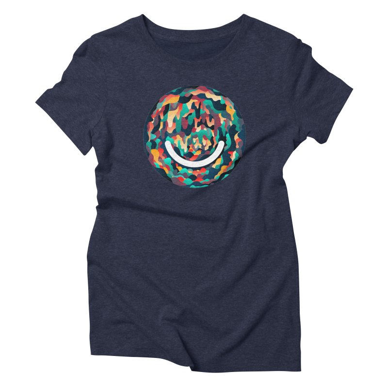 Color Cave - Chuck Anderson Women's Triblend T-Shirt by Ello x Threadless