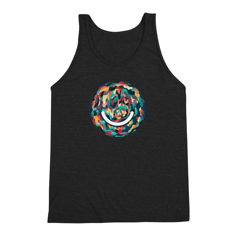 Color Cave - Chuck Anderson Men's Triblend Tank by Ello x Threadless