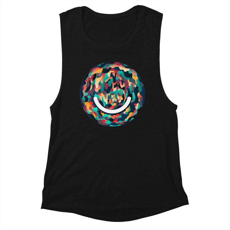 Color Cave - Chuck Anderson Women's Muscle Tank by Ello x Threadless