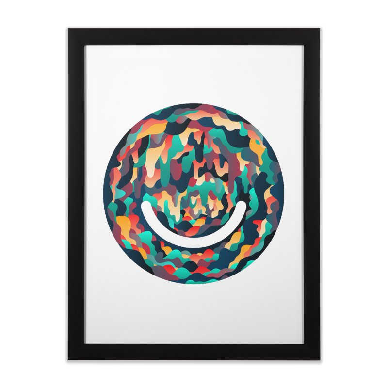 Color Cave - Chuck Anderson Home Framed Fine Art Print by Ello x Threadless