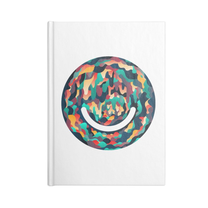 Color Cave - Chuck Anderson Accessories Blank Journal Notebook by Ello x Threadless