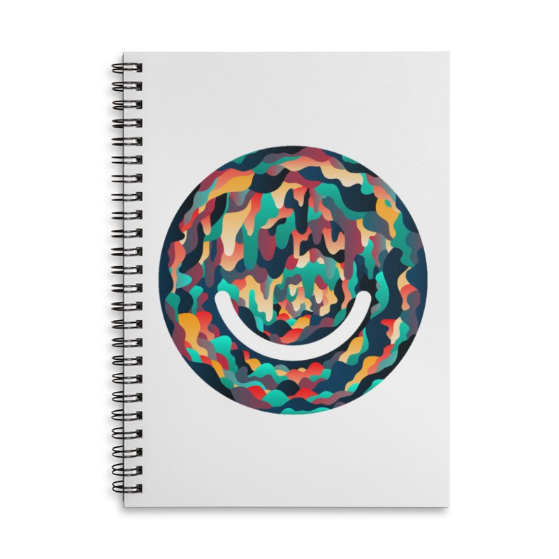 Color Cave - Chuck Anderson Accessories Lined Spiral Notebook by Ello x Threadless