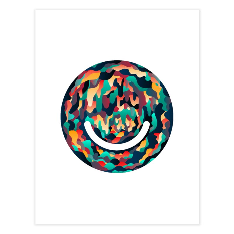 Color Cave - Chuck Anderson Home Fine Art Print by Ello x Threadless