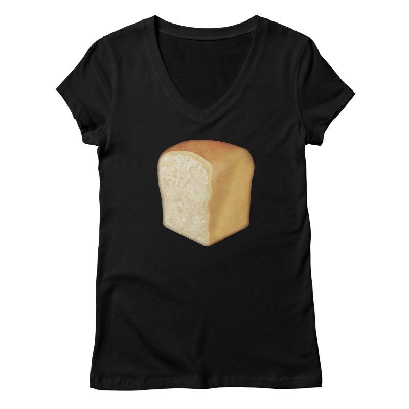 :bread: Women's V-Neck by Ello x Threadless