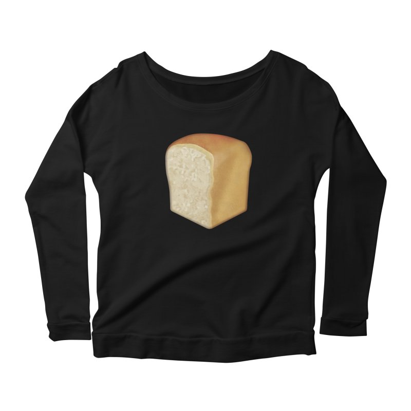 :bread: Women's Scoop Neck Longsleeve T-Shirt by Ello x Threadless