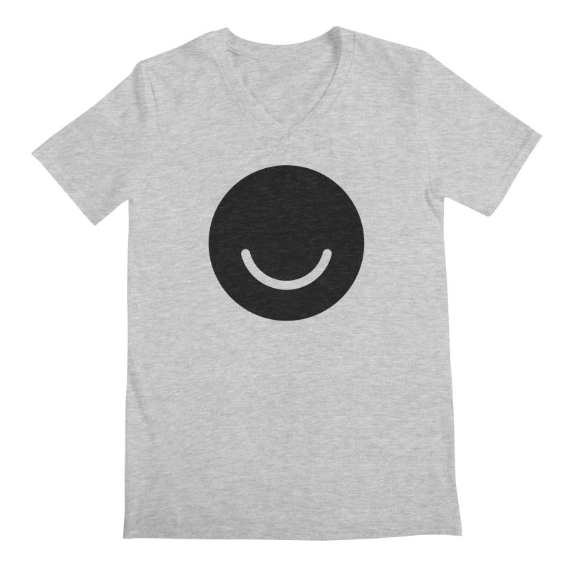 White Ello Shirt Men's V-Neck by Ello x Threadless