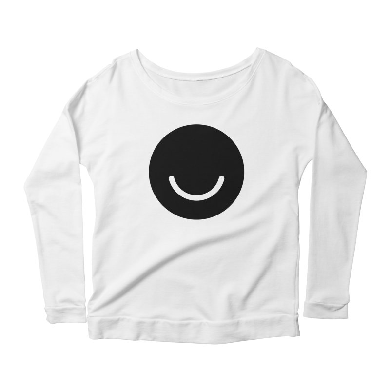 White Ello Shirt Women's Scoop Neck Longsleeve T-Shirt by Ello x Threadless