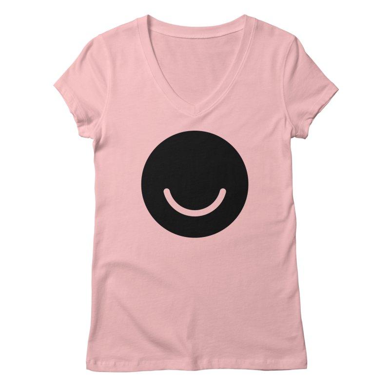 White Ello Shirt Women's V-Neck by Ello x Threadless