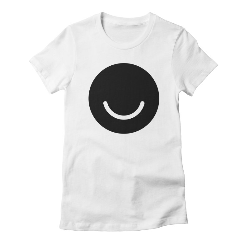 White Ello Shirt Women's Fitted T-Shirt by Ello x Threadless