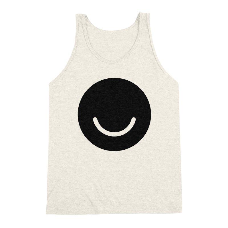 White Ello Shirt Men's Triblend Tank by Ello x Threadless