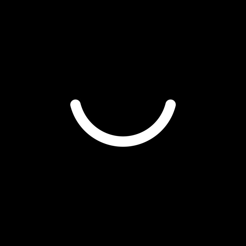 Black Ello Smile Home Throw Pillow by Ello x Threadless