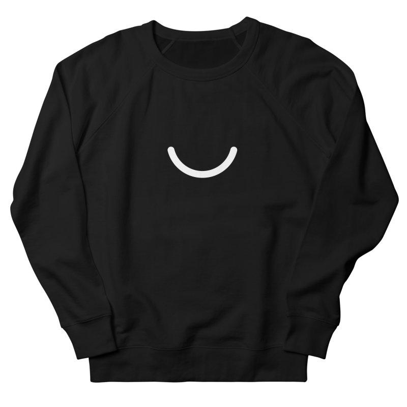 Black Ello Smile Men's Sweatshirt by Ello x Threadless