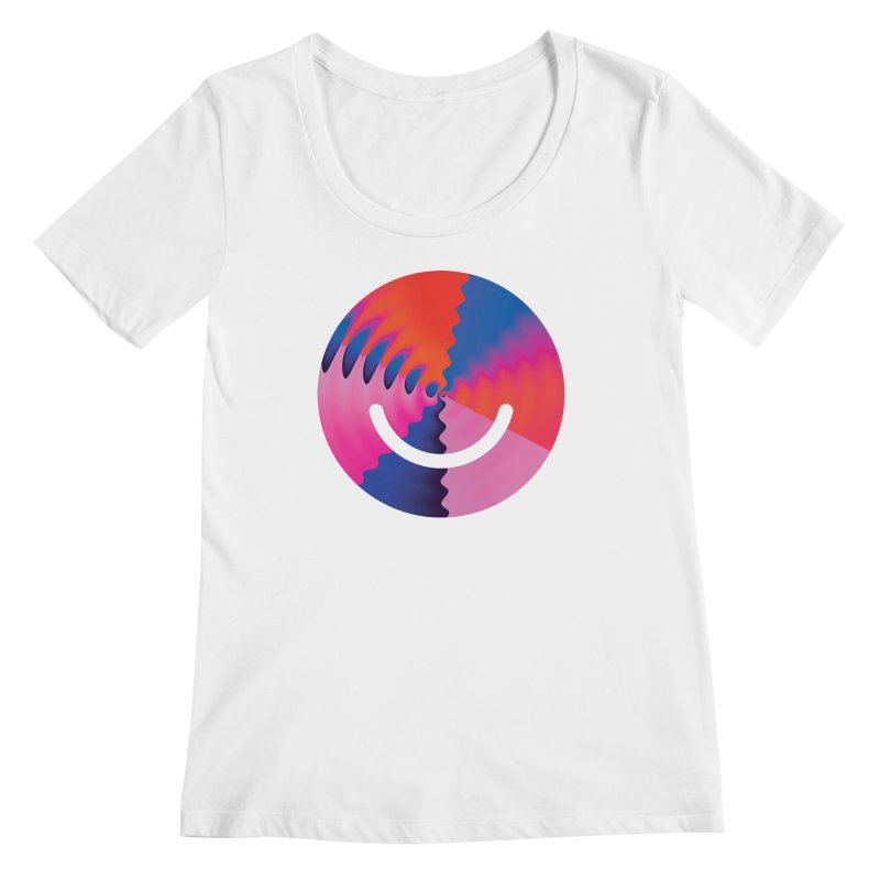 Bulletproof - Luke Choice Women's Regular Scoop Neck by Ello x Threadless