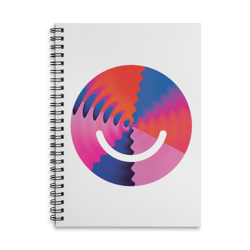 Bulletproof - Luke Choice Accessories Lined Spiral Notebook by Ello x Threadless