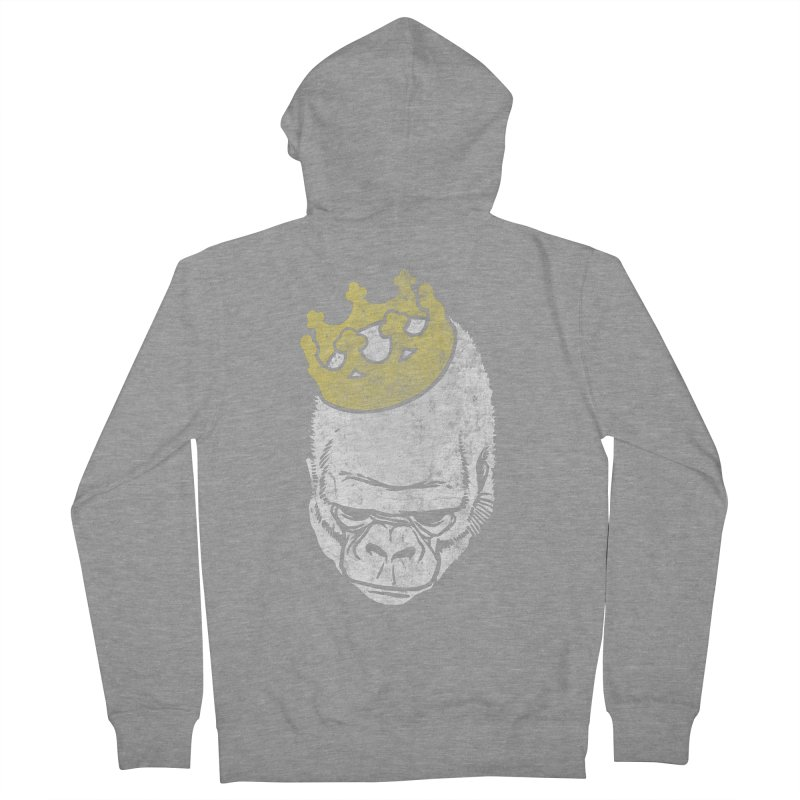 Even Kings Fall Men's Zip-Up Hoody by Ellsswhere Studios