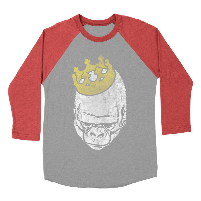 Even Kings Fall Men's Baseball Triblend T-Shirt by Ellsswhere Studios