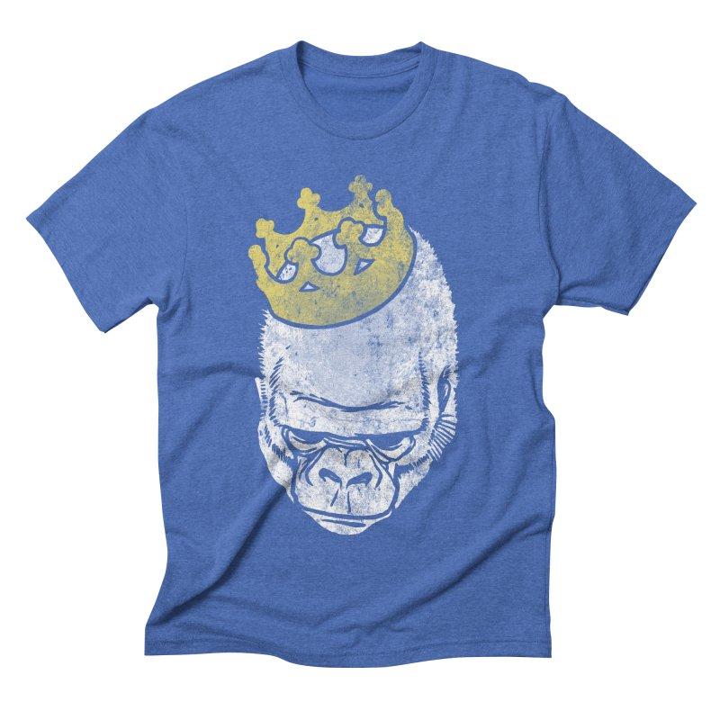 Even Kings Fall Men's Triblend T-shirt by Ellsswhere Studios