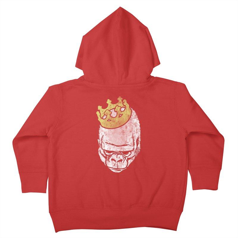 Even Kings Fall Kids Toddler Zip-Up Hoody by Ellsswhere Studios