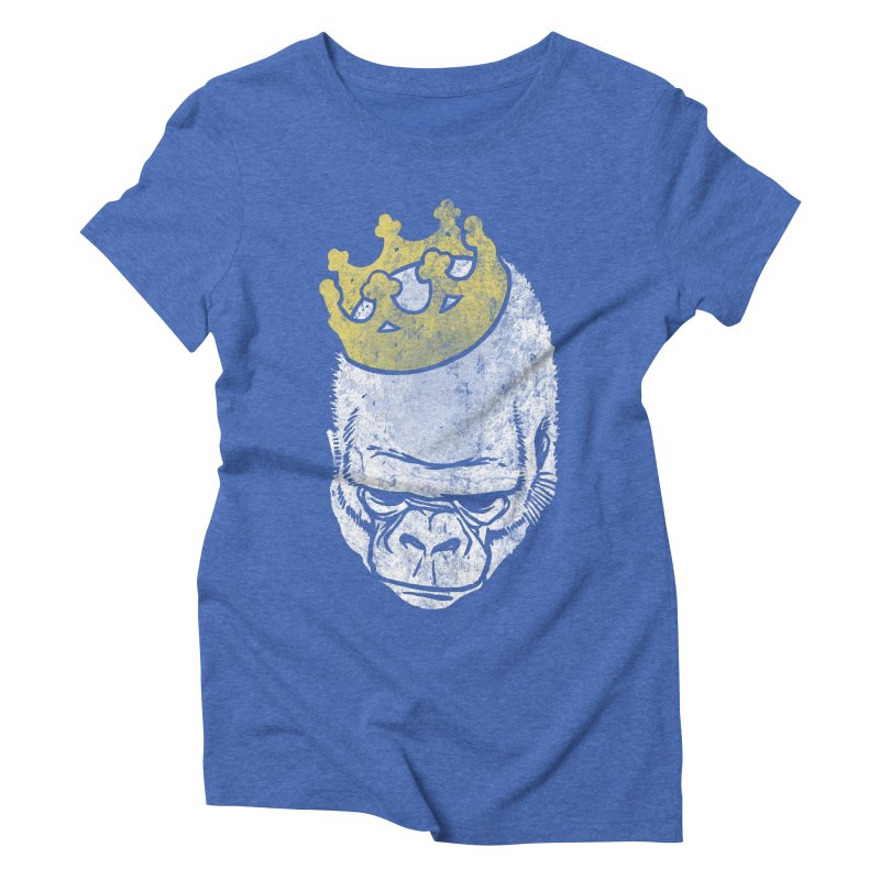 Even Kings Fall Women's Triblend T-shirt by Ellsswhere Studios