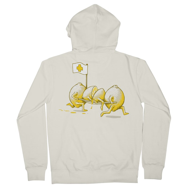 Lemon Aid Men's Zip-Up Hoody by Ellsswhere Studios