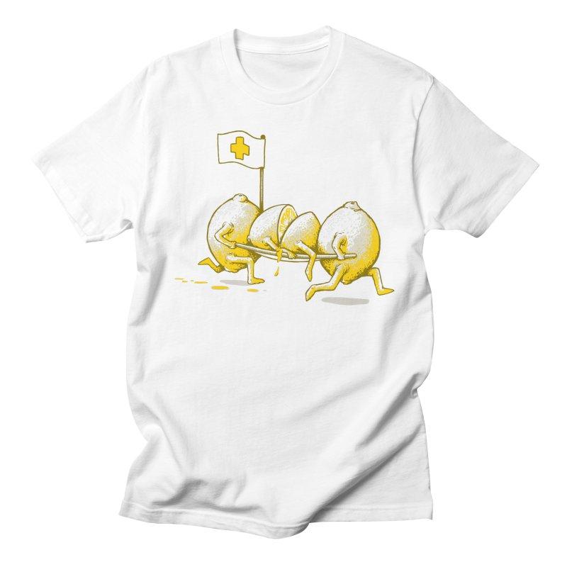 Lemon Aid Men's T-shirt by Ellsswhere Studios