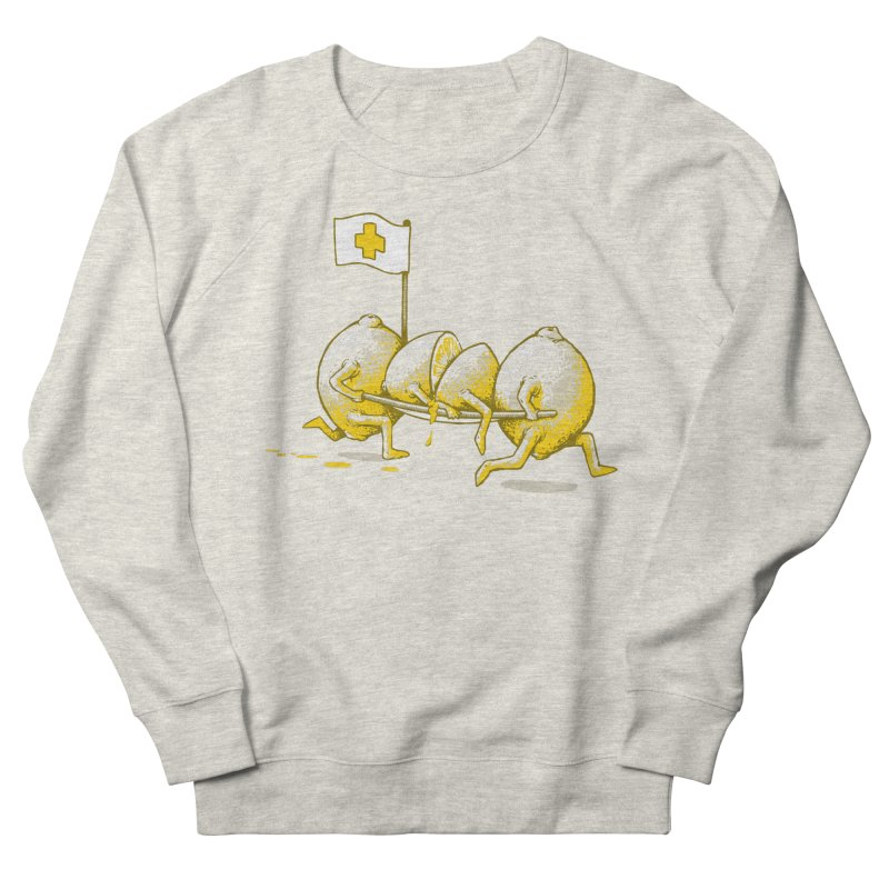 Lemon Aid Men's Sweatshirt by Ellsswhere Studios