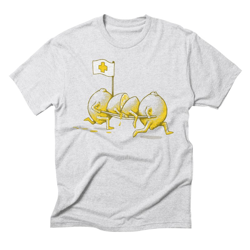 Lemon Aid Men's Triblend T-shirt by Ellsswhere Studios