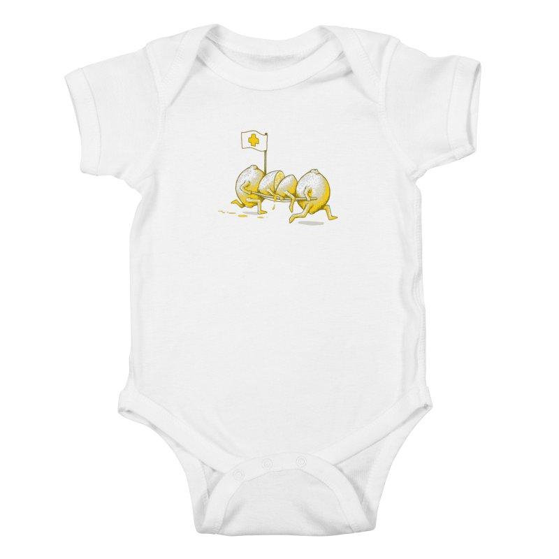 Lemon Aid Kids Baby Bodysuit by Ellsswhere Studios