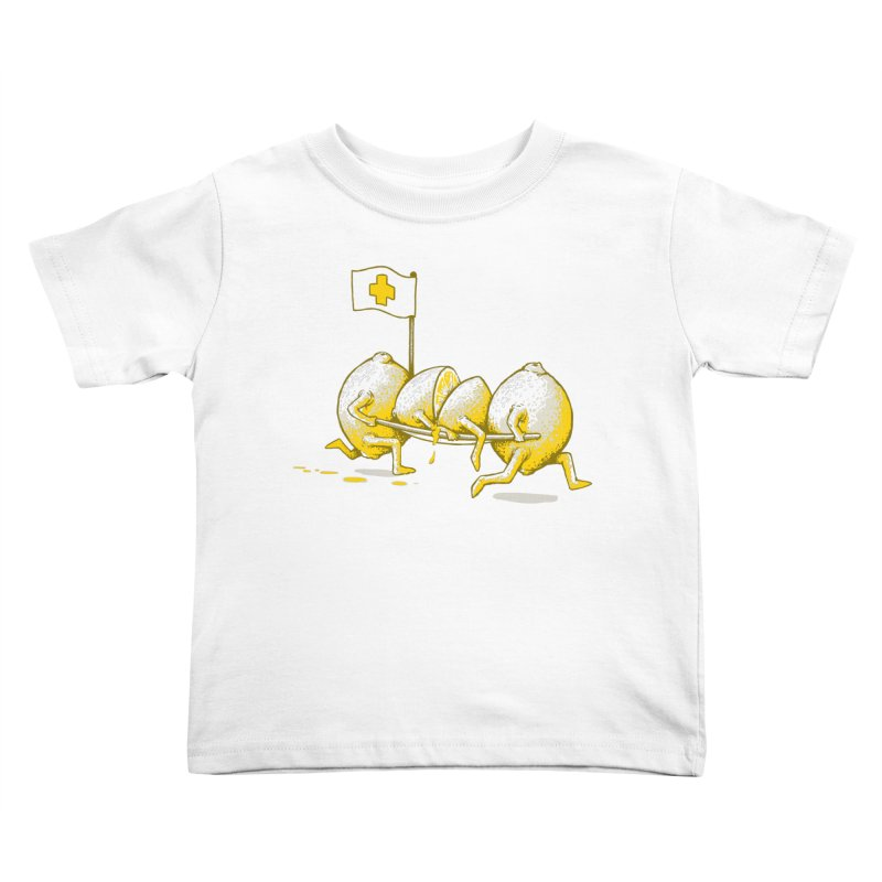 Lemon Aid Kids Toddler T-Shirt by Ellsswhere Studios