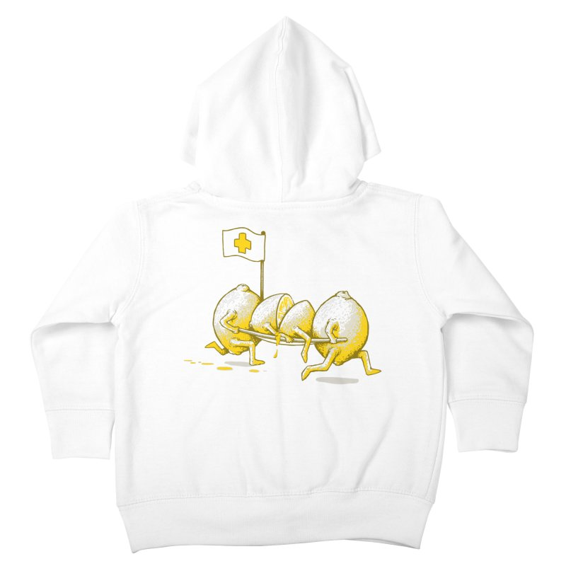 Lemon Aid Kids Toddler Zip-Up Hoody by Ellsswhere Studios