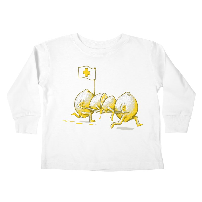 Lemon Aid Kids Toddler Longsleeve T-Shirt by Ellsswhere Studios