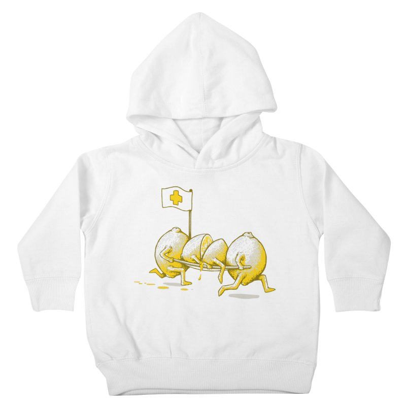 Lemon Aid Kids Toddler Pullover Hoody by Ellsswhere Studios