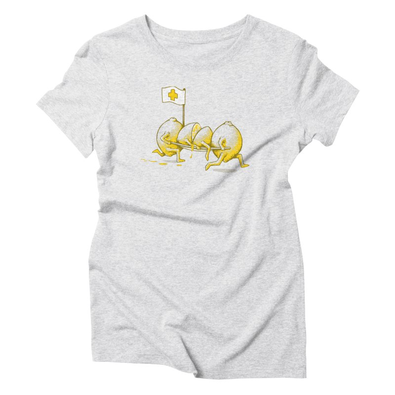 Lemon Aid Women's T-Shirt by Ellsswhere Studios