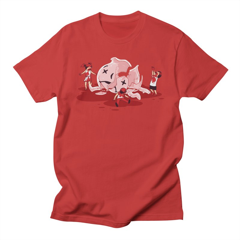 Oh No Men's T-shirt by Ellsswhere Studios