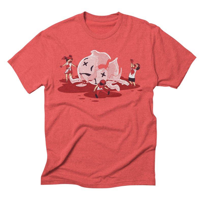 Oh No Men's Triblend T-shirt by Ellsswhere Studios