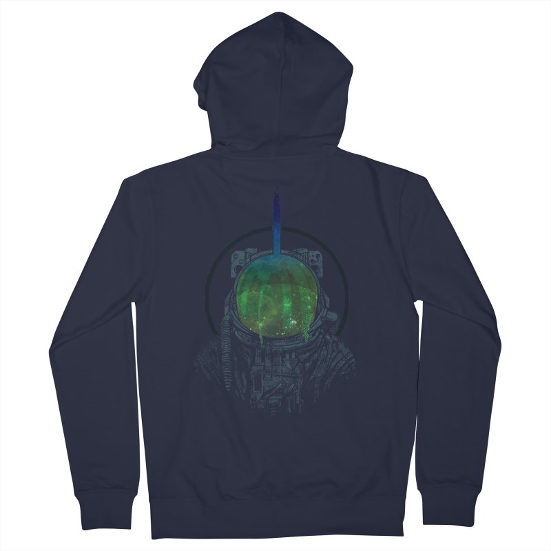 Deafening Silence Men's Zip-Up Hoody by Ellsswhere Studios