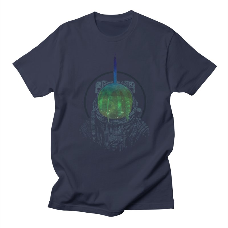 Deafening Silence Men's T-Shirt by Ellsswhere Studios