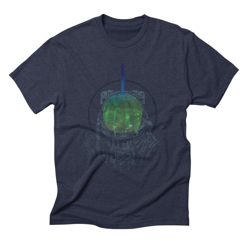 Deafening Silence Men's Triblend T-Shirt by Ellsswhere Studios