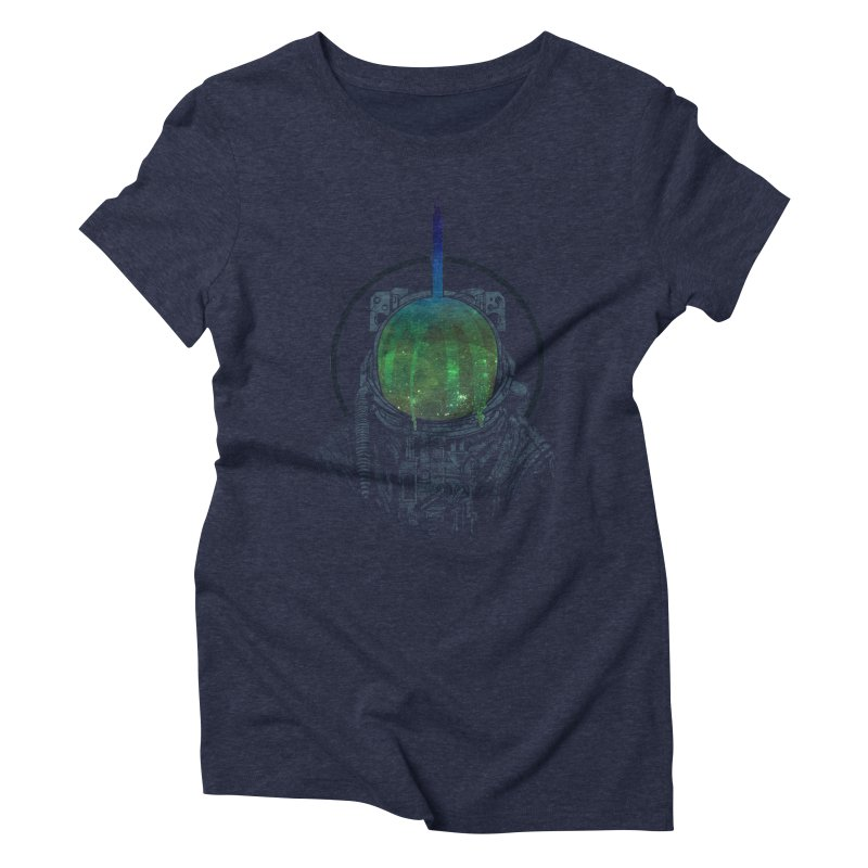 Deafening Silence Women's Triblend T-shirt by Ellsswhere Studios