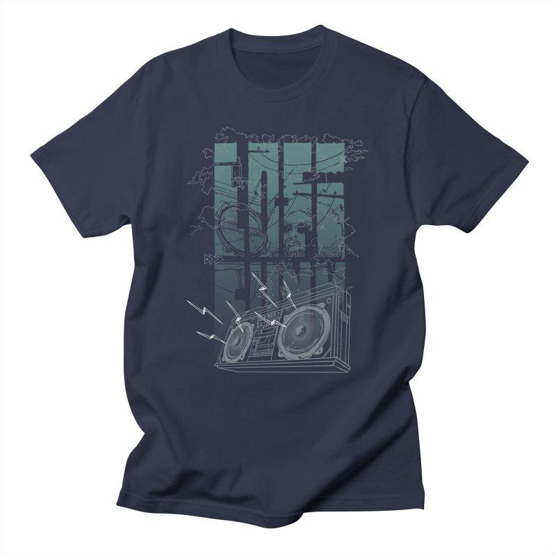 Lo-Fi Funk Men's T-shirt by Ellsswhere Studios