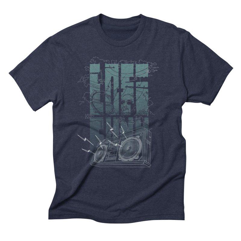 Lo-Fi Funk Men's Triblend T-Shirt by Ellsswhere Studios