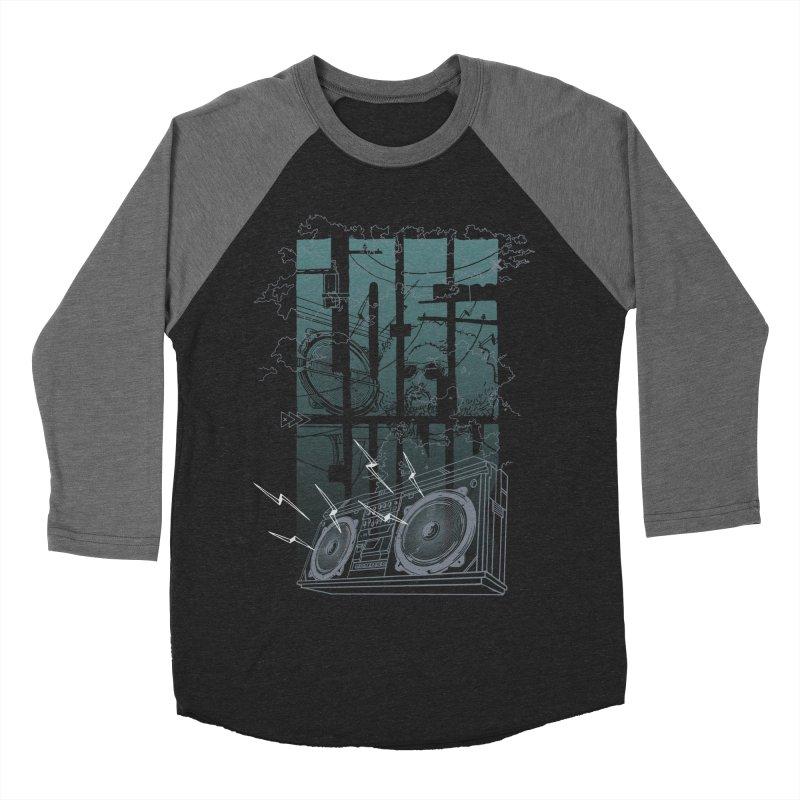 Lo-Fi Funk Women's Baseball Triblend T-Shirt by Ellsswhere Studios