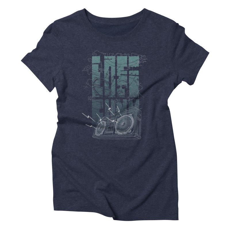 Lo-Fi Funk Women's Triblend T-shirt by Ellsswhere Studios