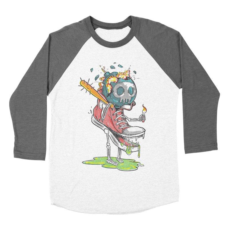 Self Destruct Men's Baseball Triblend T-Shirt by Ellsswhere Studios