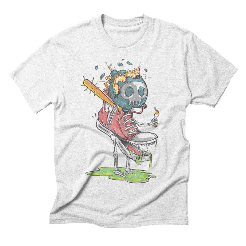 Self Destruct Men's Triblend T-shirt by Ellsswhere Studios