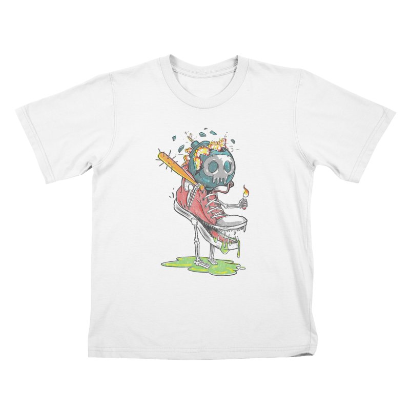 Self Destruct Kids T-shirt by Ellsswhere Studios