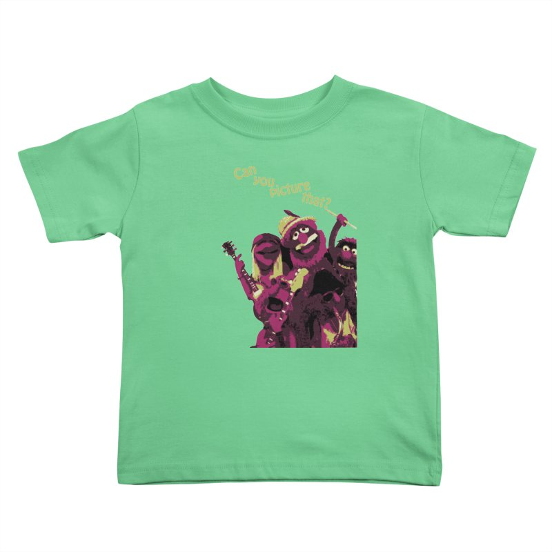 Can you Picture that? Kids Toddler T-Shirt by Ellygator's Artist Shop